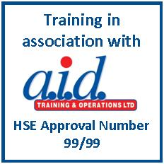 Training in association with aid